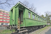 Joseph Stalin\\\\'s personal railway carriage, in the Stalin museum.