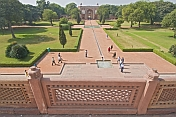 View from Humayun's Tomb to the West Gate.
