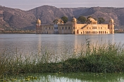 The Nur Mahal or Water Palace, set in picturesque lake and mountain scenery.