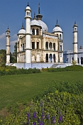 Interior mosque of the Hussainabad or Chota Imambara, set in pleasant gardens.