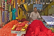 Coloured Powder Seller