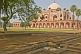 Image of The lawns and trees around Humayun's Tomb.