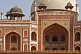 Image of Detail of stonework and design of Humayun's Tomb.