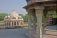 Image of The Isa Khan Tomb Enclosure stands in the grounds of Humayun's Tomb.