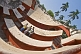 Image of Visitors explore Maharajah Jai Singh II's Jantar Mantar observatory, in Sansad Marg.