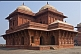 Image of Northern Palace of the Haramsara (Birbals House) at the abandoned Mughal city of Fatehpur Sikri.