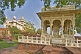 Image of A tomb and canopy in the grounds of the Jaswant Thada built 1899 from white Makrana marble.