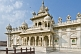 Image of Jaswant Thada, a memorial to commemorate Jaswant Singh II was built 1899 from white Makrana marble.
