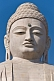 Image of Detail of the 20m tall statue of the Buddha, which stands next to the Japanese Temple.