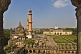 Image of Mosque and grounds of the Bara Imambara, as seen from the roof.