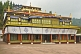 Image of Front of the main temple in the Rumtek Buddhist Monastery.
