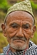 Image of Sikkimese mountain man with traditional hat.