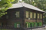 Museum of Fedor Dostoevsky is housed in the log-built wooden house where the exiled writer lived from 1857-1859.