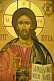 Image of Wall painting of Jesus Christ in Saint Nicholas Cathedral.