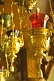 Image of Gold oil lamps with colored glass shades in Saint Nicholas Cathedral, on Qabanbay Batyr.