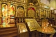 Image of Candles and golden icon screen in the Zenkov Cathedral.