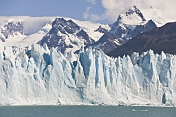 The Moreno Glacier in the Parque Nacional Los Glaciares.