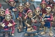 Image of A selection of Gnome statues for sale.
