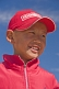 Image of Small Mongolian boy in a red hat and jacket.
