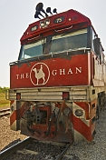 The 'Ghan' Locomotive type Cv40-9i