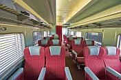 Red Class Day-Nighter seats on The Ghan