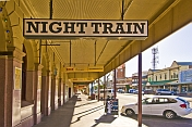 Night Train' bar on Argent Street in Broken Hill
