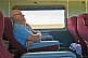 Image of Passengers doze in Indian Pacific Day-Nighter seats crossing the Nullarbor Plain.