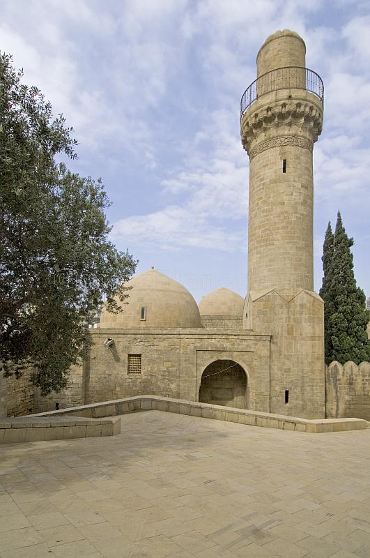 Shah Mosque in the Palace of the Shirvan Shahs.