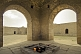 Image of Central fire pit and place of Zoroastrian worship at the Atesgah Fire Temple.