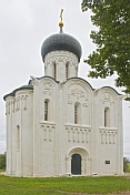 Church of the Intercession of the Nerl, at Bogolyubovo.