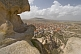 Image of View of the town of Uchisar from the summit of the Uchisar Fairy Castle.