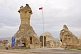 Image of A Turkish police station housed in a unique \\\\'fairy chimney\\\\' cave of volcanic \\\\'tuft\\\\' rock.