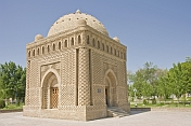 Mausoleum of Ismail Samani is one of the oldest Muslim monuments in Bukhara.