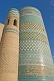 Image of Turquoise-tiled Kalta-Minor minaret was begun in 1851 by Mohammed Amin Khan, who died before it could be finished.