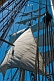 Image of Rope sails and rigging of the tallship 'Picton Castle'.