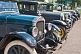 Image of A row of vintage motor cars parked on Queens Street.