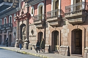 Frontage of the Museo De Santiago.