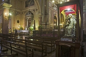 Interior of the Basilica de La Merced.