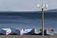 Image of Rowing boats on the beach of Lago Villarrica.