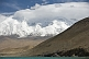 Image of Snow-capped Pamir Mountains next to Karakul Lake, on the Karakoram Highway between Kashgar and Tashkurgan.