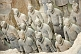 Image of Ranks of Terracotta warriors in pit number 1.