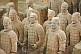 Image of Terracotta warriors include some original colors.