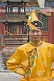 Image of Boy in traditional dress at the Dazhao Buddhist Lamasery.