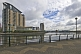 Image of The Salford Quays and Lowry Centre development on the Manchester Ship Canal.