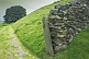 Image of Dry stone wall and gateway leads along old Lake district drovers road.